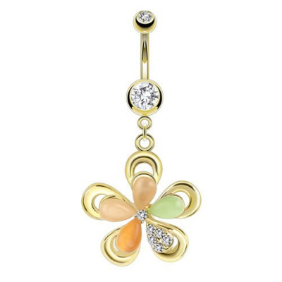 Piercing - Luxury Gold Daisy