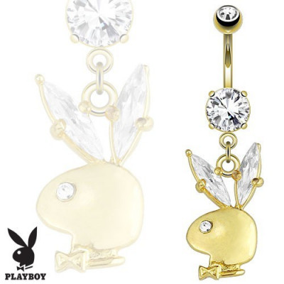 Piercing - Luxury Gold Playboy